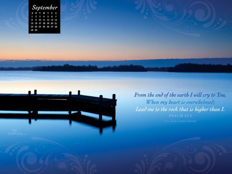 Sept 2013 - Psalm 61:2
