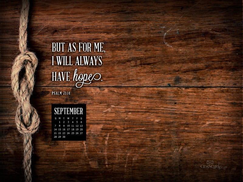 Sept 2014 - Psalm 71:14
