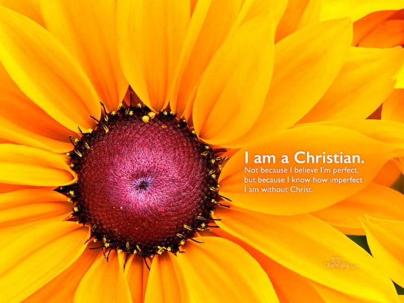 I am a Christian.