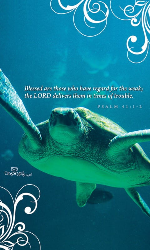 Psalm 41:1-2 - Bible Verses and Scripture Wallpaper for ... | 480 x 800 jpeg 60kB