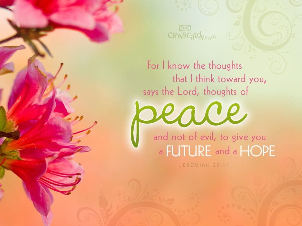 Jeremiah 29:11   Bible Verses And Scripture Wallpaper For Phone Or Computer