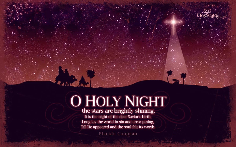 Holy Night  O Holy Night Background