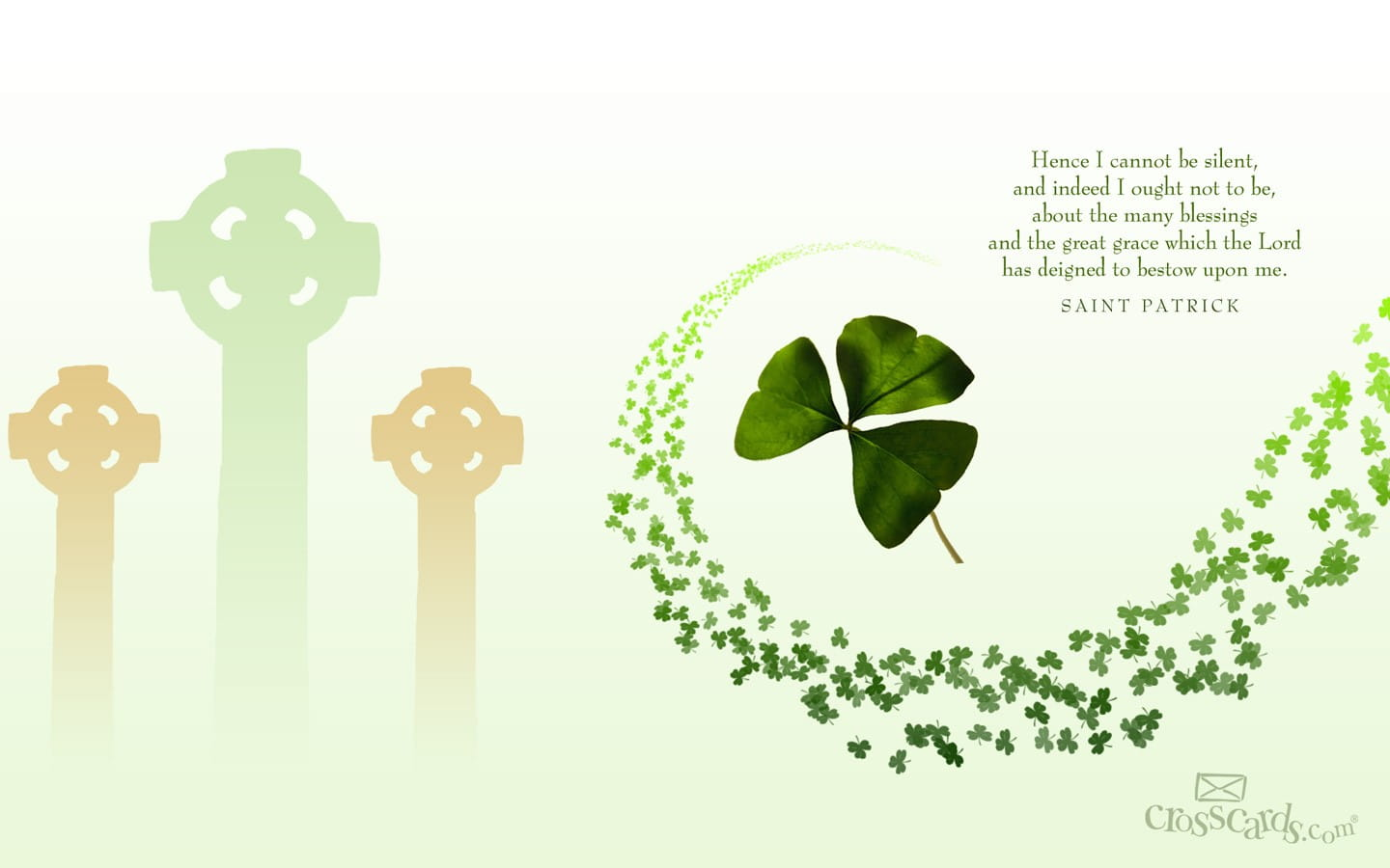 St patrick 39 s day desktop wallpaper free seasons computer and mobile backgrounds - Saint patricks day wallpaper free ...