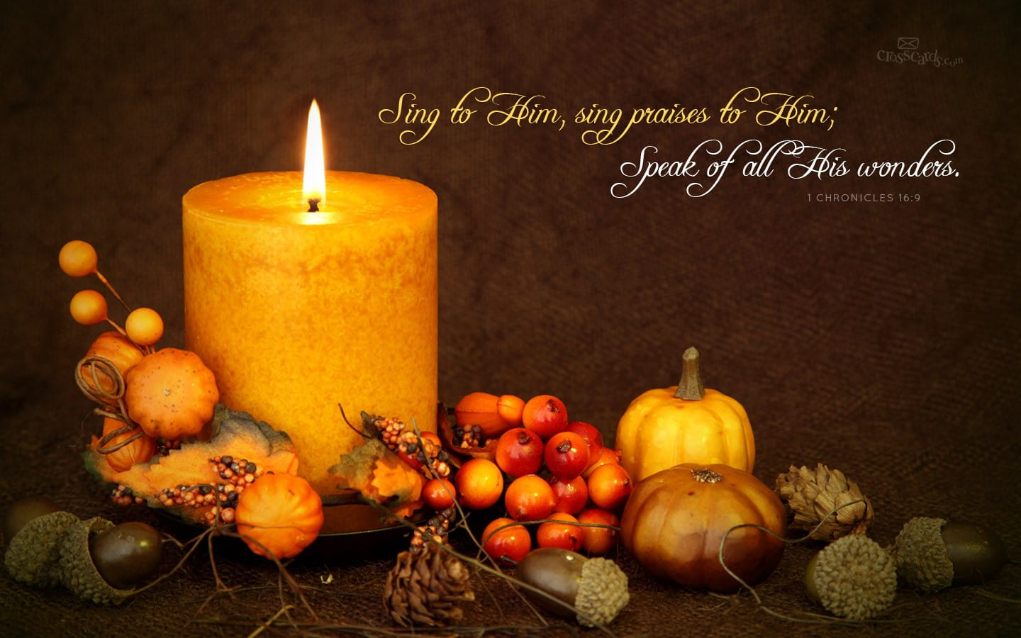 Home Musings: Candlelight on Cool Autumn Nights |Fall Candles Background