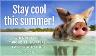 Stay Cool - Isaiah 43:2
