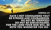 Don't be discouraged, God's got your back!