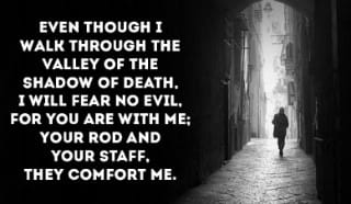 You will always comfort me, God!