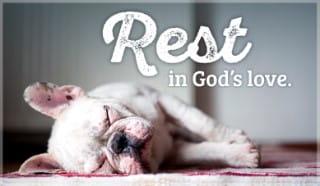 Rest in God's Love