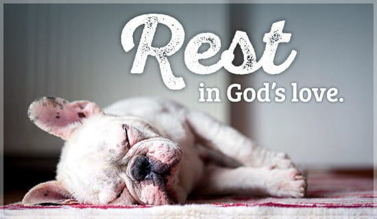 Free Rest in God's Love eCard - eMail Free Personalized ...