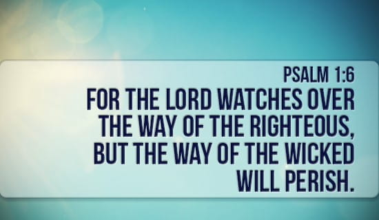 Psalm 1:6 eCard - Free Facebook eCards Greeting Cards Online
