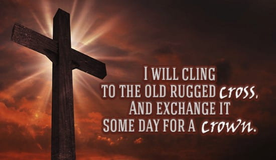 Attractive Old Rugged Cross Ecard Free Facebook Ecards Greeting Cards Online