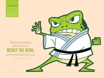 October 2015 - Resist the Devil