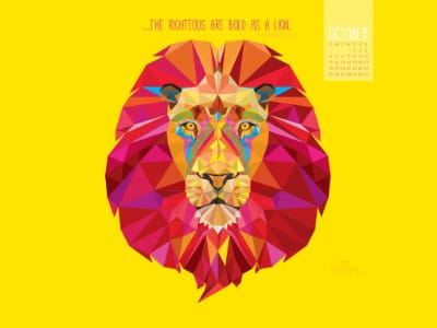 October 2015 - Bold as Lion
