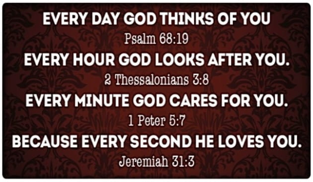 Every Moment, God Loves You!