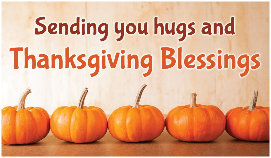 Hugs and Blessings ecard, online card