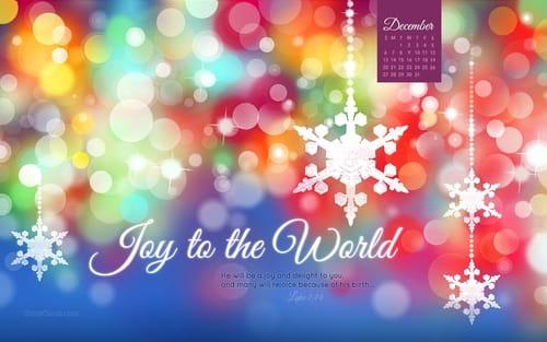 Free December Computer Desktop Calendars, Christian Wallpaper Backgrounds
