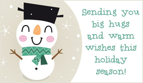 Big Hugs - Warm Wishes