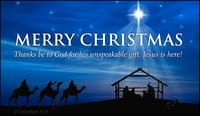 Merry Christmas - Unspeakable Gift