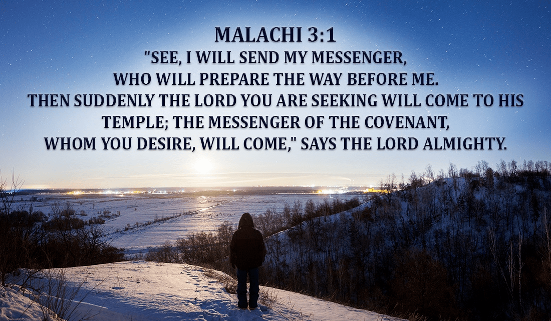 Image result for Malachi 3:1