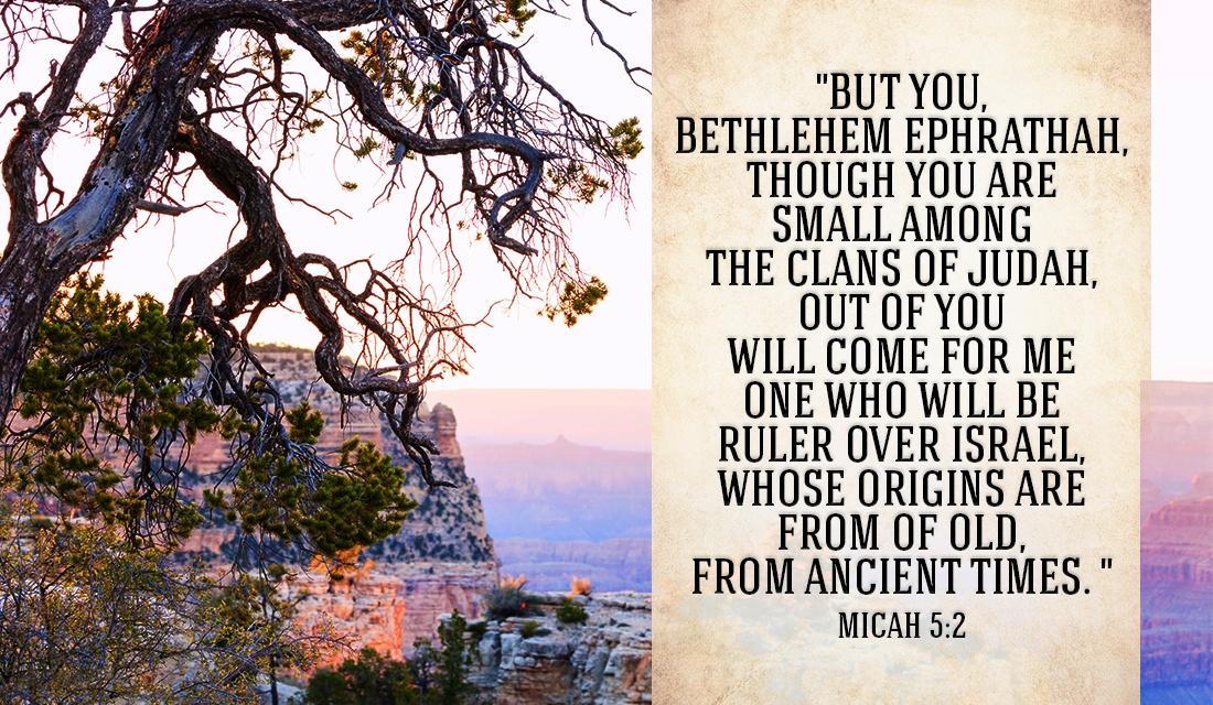 God always keeps the promises He makes! - Micah 5:2 eCard ...