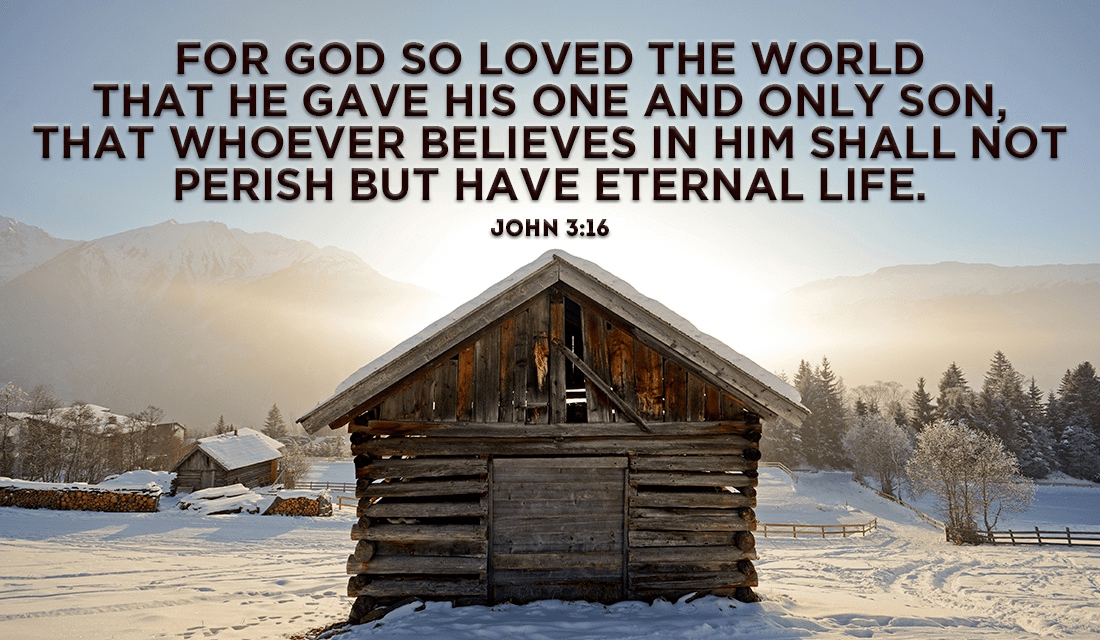 What is your favorite Christmas-related Bible verse? - John 3:16