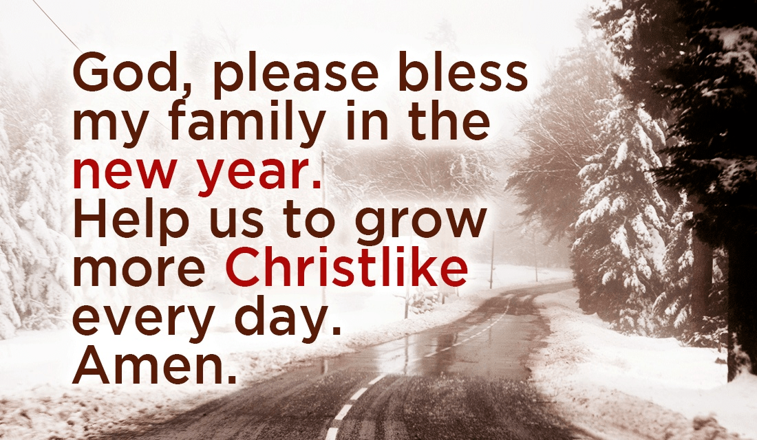 10 Signs You Grew Up In A Christian Family: Lord, Please Bless My Family This Year, Amen ECard