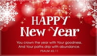 New Year- Psalm 65:11