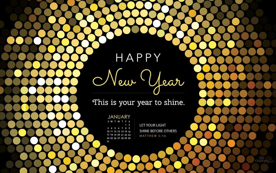 January 2016 - Year to Shine