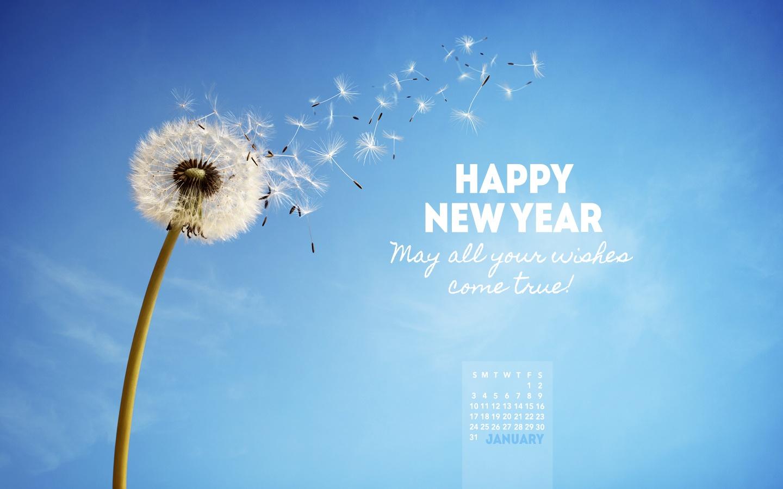 january 2016 wishes come true desktop calendar free