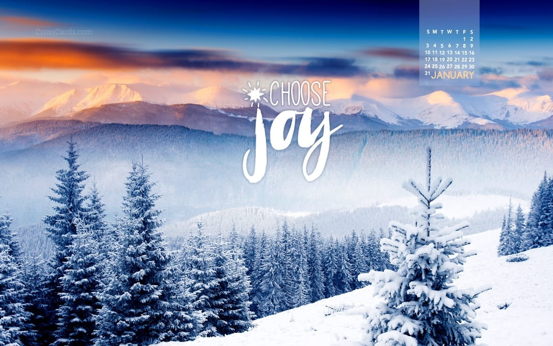 January 2016 - Choose Joy
