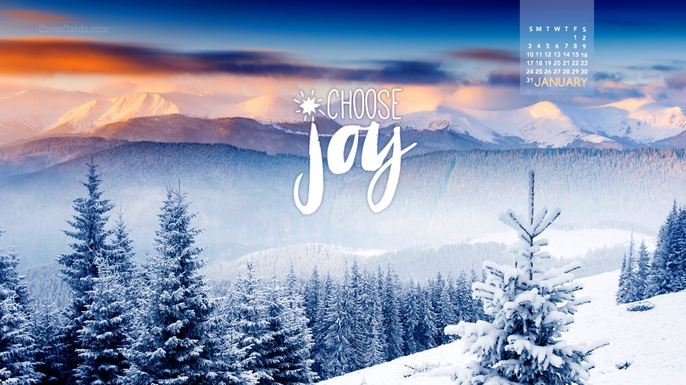 january 2016 choose joy desktop calendar free january