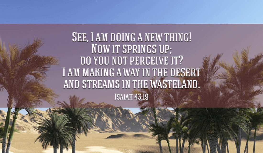 god always has new things in store for you
