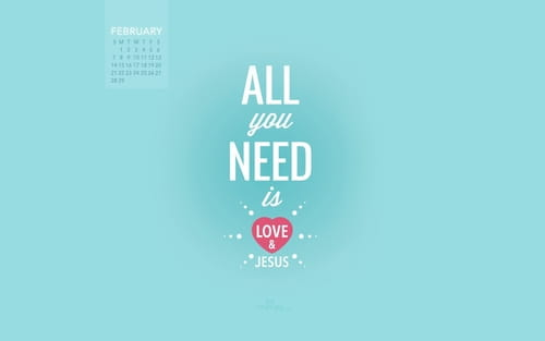 February 2016 - Love and Jesus
