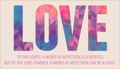 Love - Word of Affection