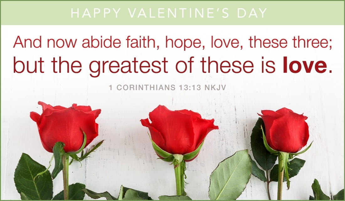 Greatest is Love eCard Free Valentines Day Cards Online – Free Christian Valentine Cards