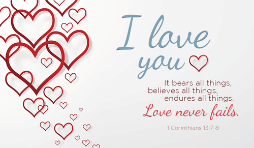Now is the season for exemplary love! And who gave us this love?