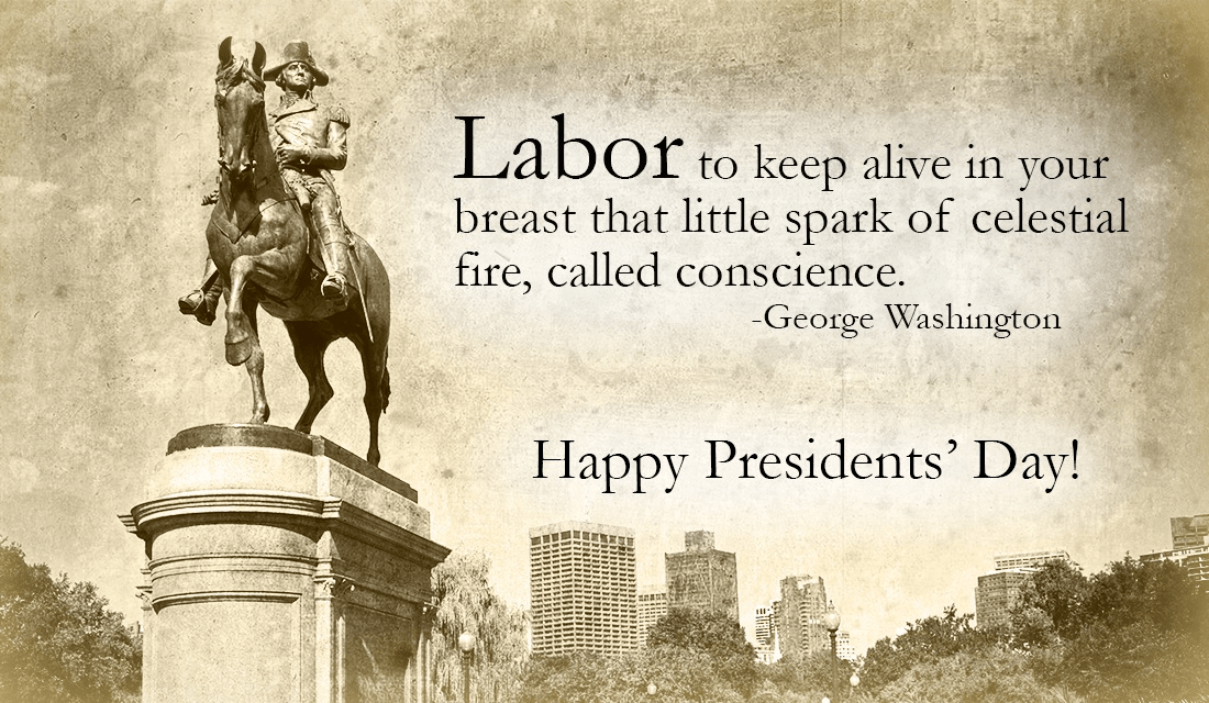 Have a wonderful Presidents day!