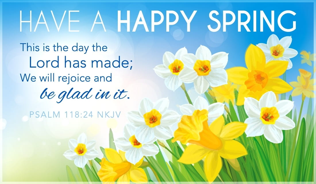 Have A Happy Spring ecard, online card