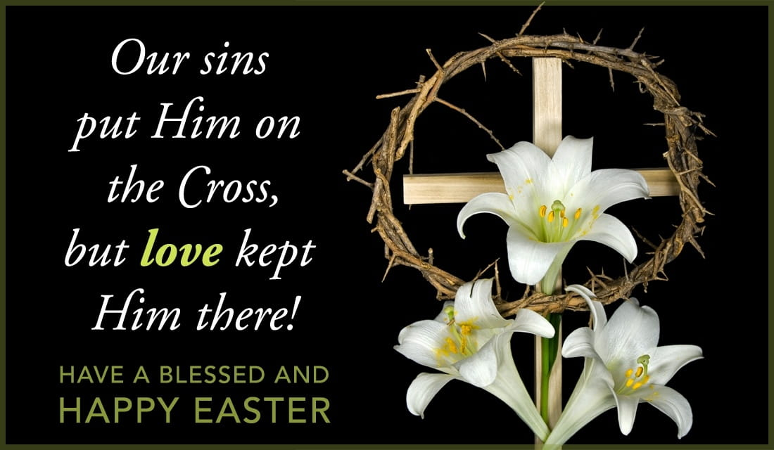 Love on the Cross ecard, online card