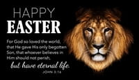 Happy Easter - John 3:16