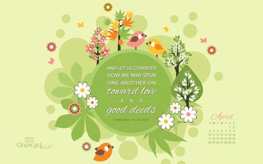 April 2016 - Good Deeds
