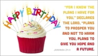 Happy Birthday Jeremiah 29:11