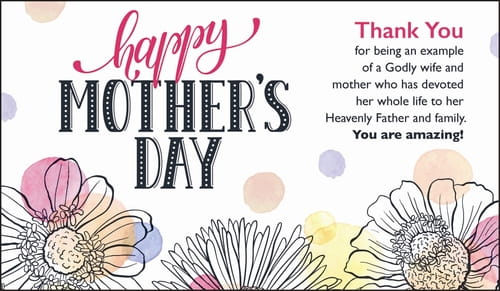 Happy Mother's Day - Thank You Mom