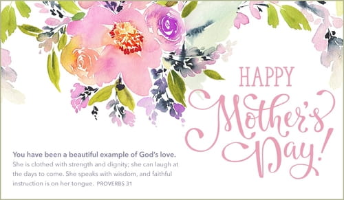Happy Mother's Day - Example God's Love