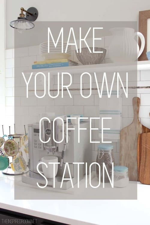 6 Steps to Styling the Perfect Coffee Station!
