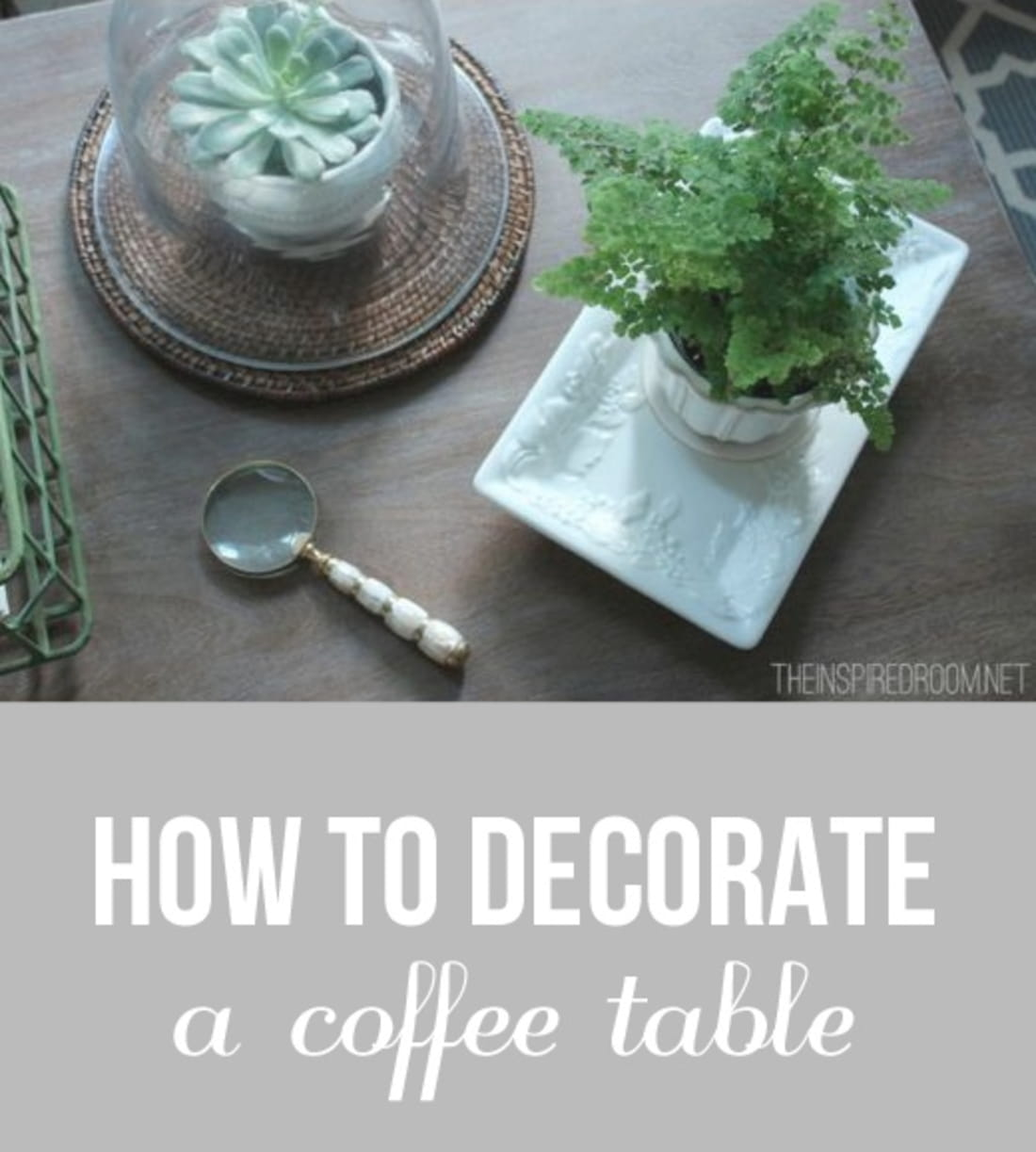 Gothic martha stewart projects decoupage table how to make a perfectly style your ottoman or coffee table with this geotapseo Image collections