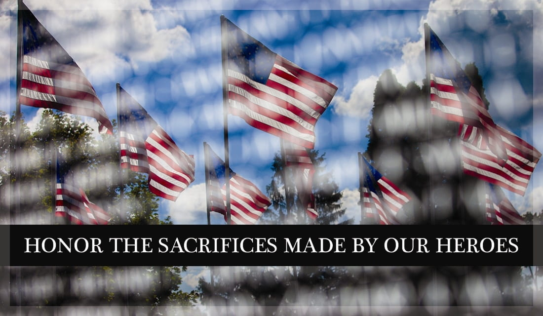 Honor The Sacrifices Made By Our Heroes