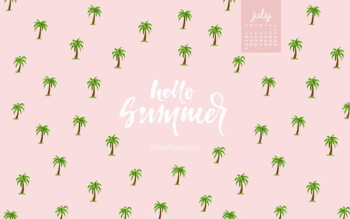 July 2016 - Hello Summer