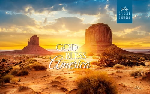 July 2016 - God Bless America