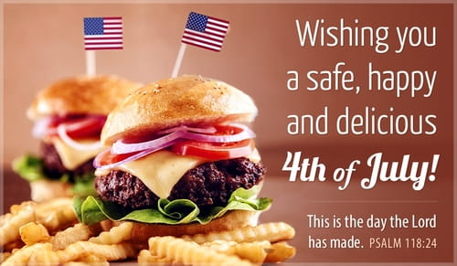 Wishing You Delicious 4th of July